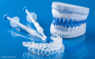Bleaching-Set vom Zahnarzt für die Zahnaufhellung zu Hause.