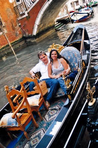 Fahrt mit Gondola
