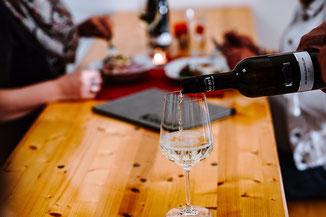 Essen Heurigen Jause Wein