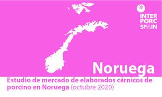 INTERPORC Estudio de mercado de elaborados cárnicos de porcino en Noruega (octubre 2020). Disponible bajo petición a: internacional@interporc.com