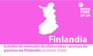 INTERPORC Estudio de mercado de elaborados cárnicos de porcino en Finlandia (octubre 2020). Disponible bajo petición a: internacional@interporc.com