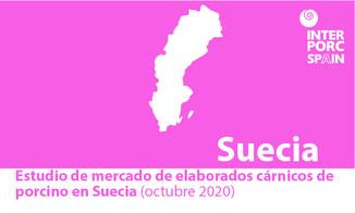 INTERPORC Estudio de mercado de elaborados cárnicos de porcino en Suecia (octubre 2020). Disponible bajo petición a: internacional@interporc.com