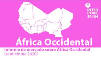 INTERPORC Informe de mercado sobre África Occidental (septiembre 2020). Disponible bajo petición a: internacional@interporc.com