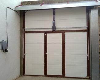puerta basculante de exterior automatica