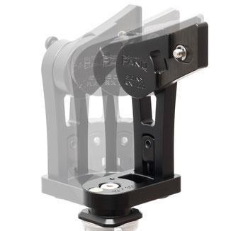 pocketPANO Nodalpunktadapter mit integrierter Rotationsbasis, Rotor, Klick-Rastung