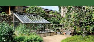 Gewächshäuser im englischen viktorianischen Stil Massgeschneidert