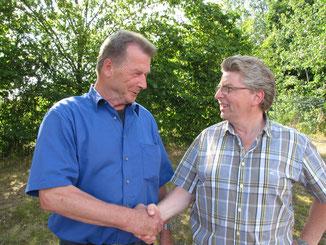 Otto Seibert (l.) und Matthias Horst (r.)