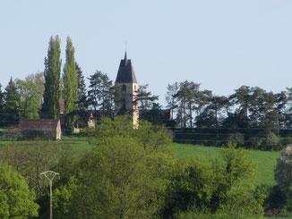 Les villages se situent souvent sur les collines