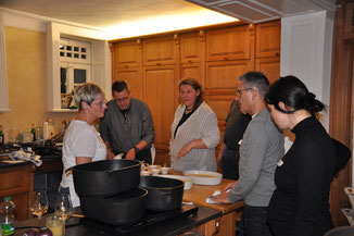 Teamkochen Feb 2020- Station Dessert