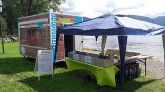 """Seefest 2019 - Der Culina Stand...., """"vor dem Ansturm"""""""