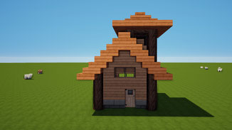 minecraft tiny wood house download