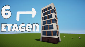 minecraft modern house download tall