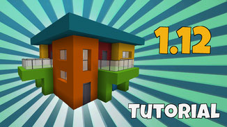 minecraft colerful house download