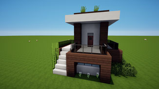 minecraft modern house download tiny