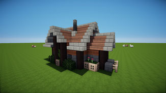 minecraft medivial house download