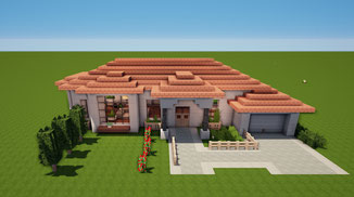 minecraft italian house download