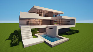 minecraft modern large house download