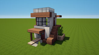 minecraft tiny modern house download