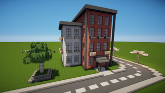minecraft suburban house download