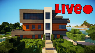 minecraft modern large redstone house download