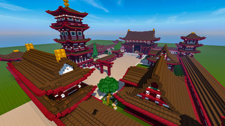 minecraft japanese temple download