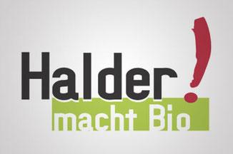 Huhn und Hahn Partner Halder macht Bio