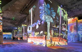 Les carrières de lumières images de tableaux de peinture en lumière, philippemenu.com