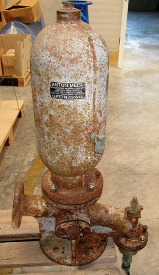 Der hydraulische Widder war 150 Jahre im Einsatz.