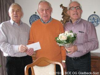 85 Geburtstag von Siegfried Kahter IGBCE OG Gladbeck-Süd