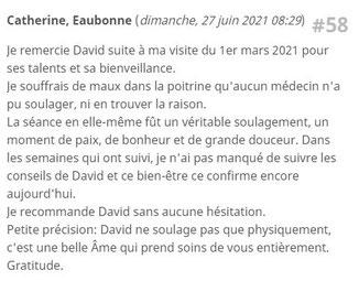 CDav hypnothérapeute supprimer les chocs émotionnels soin énergétique au cabinet Bessan 34550 Agde Béziers Montpellier