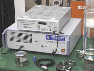 Genertor 120 kHz mit Flächenschwinger