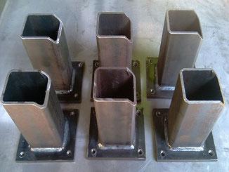 Metallbauarbeiten Serienfertigung