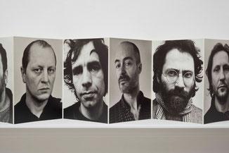 Ulrich Wüst Leporello Besucher, 49 Men 1987/89, 1989 © Ludger Paffrath