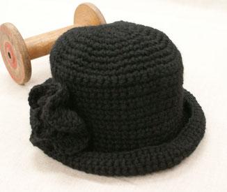 新作帽子(編み図あります)