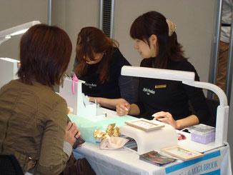 秋田タチカワ 美容ディラー主催のイベントで 〜カルジェル体験会〜 待ちが出る程の人気です