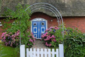 Schöne Tür in Falshöft