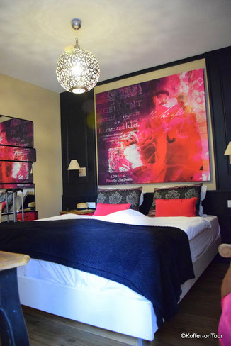 Hotel Roses in Straßburg Zimmer Romeo und Julia