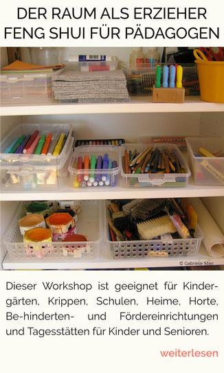 der Raum als Erzieher, Raumgestaltung für Kindergärten