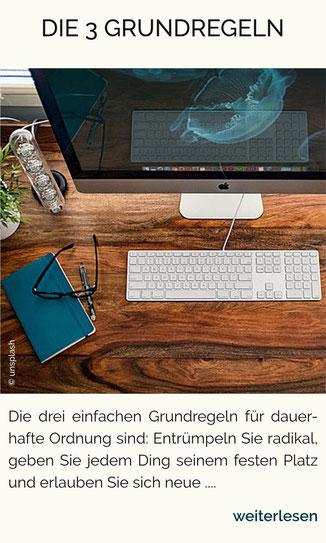 Ordnung im Büro, Ordnung, Aufräumen, Aufräum-Coach Nürnberg