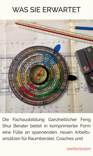 Lo Pan, Feng-Shui-Kompass, Feng-Shui-Analyse, Feng Shui