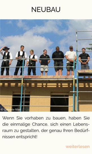 Richtfest, Neubau, Bautradition, Grundsteinlegung