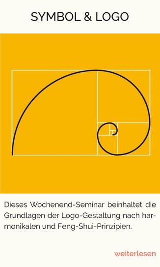 Der Goldene Schnitt, Logo-Gestaltung, Logo