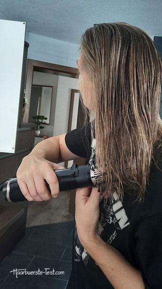 babyliss warmluftbürste test, warmluftbürste mittellange haare, warmluftbürste halblange haare