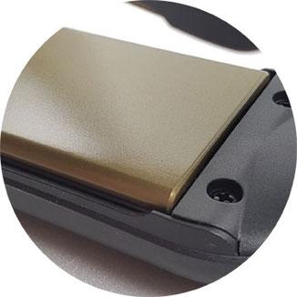 GHD Glätteisen breit, Glätteisen breite Platten, breites Glätteisen, Haarglätter breit
