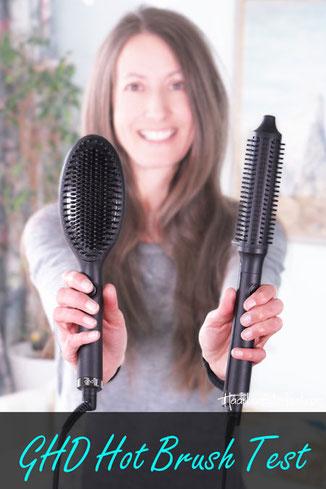 GHD Hot Brush Test: GHD Rise vs GHD Glide, ghd hot brush