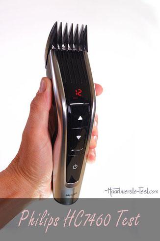 Philips HC7460/15 Test: Philips Haarschneidemaschine im Praxis-Test