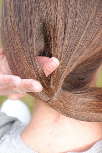 Zopf lange Haare Anleitung