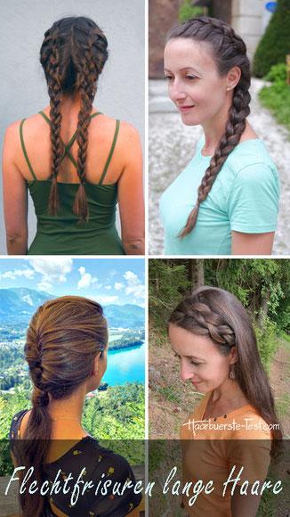 Flechtfrisuren für lange Haare zum Nachmachen: romantisch, cool, lässig, einfach und schnell