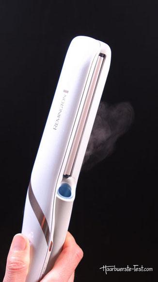 Dampf aus Ultraschall Glätteisen, ultraschall glätteisen