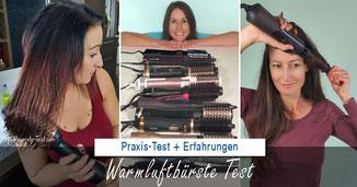 Warmluftbürste Test 2018, Warmluftbürste Test 2019, Warmluftbürste Test 2020